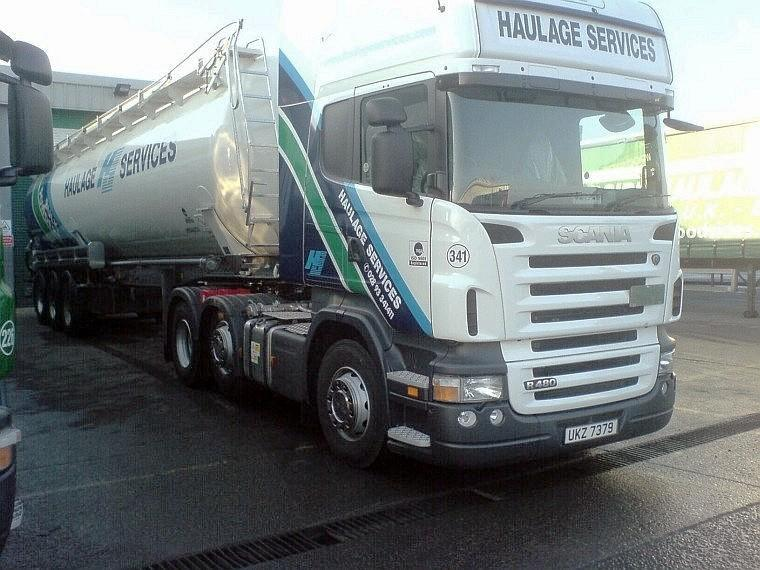 Scania R480 Haulage Truck Picture