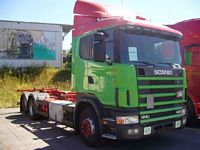 sold USED SCANIA R124