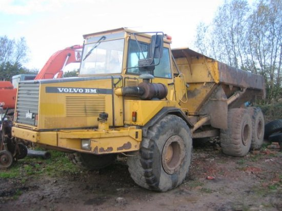 1994 Volvo A25 Truck Picture