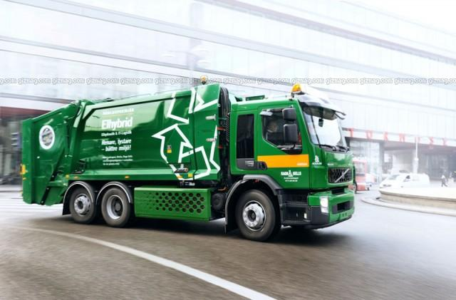 2008 Volvo Hybrid Truck Picture