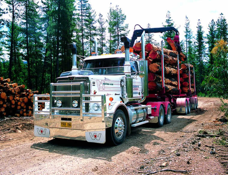 Front Left 2008 Western Star 4900 Truck Picture